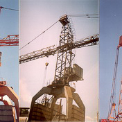 Anticorrosive processing of tower cranes (Kharkov)